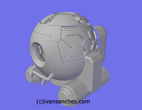 Ball ver KA 3d gundam mesh cg sandrum