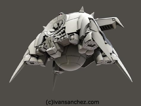 mobile suit gundam mobile armor apsalus I II III 3d mesh cg sandrum