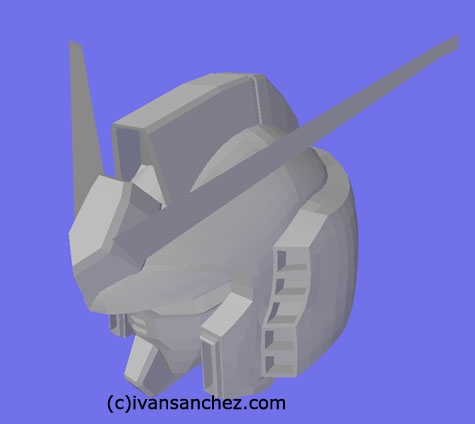 Rx-78 gundam 3d mesh cg sandrum