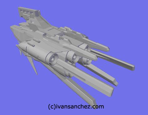 dendrobium gp03 stamen orchis gundam 3d mesh sandrum