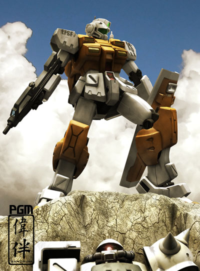 0083 powered gm gundam 3d mesh cg sandrum