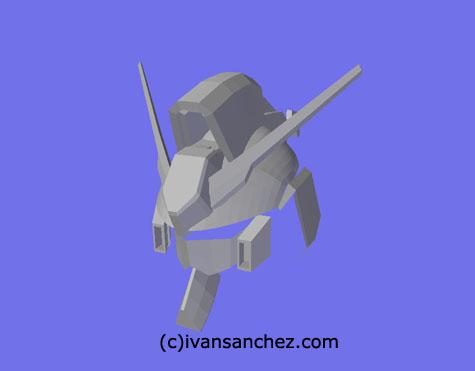 Hi-Nu Hi Nu gundam 3d mesh cg sandrum