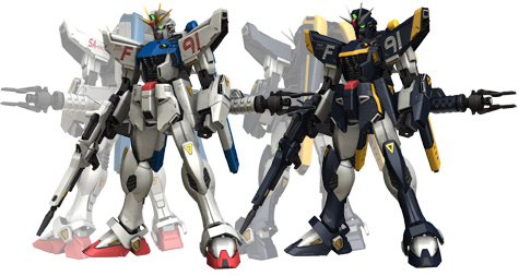 mobile suit f91 harrison gundam 3d mesh cg sandrum