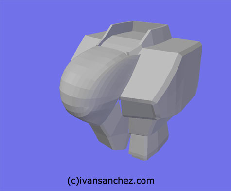 crossbone gundam x1 x2 x3 3d mesh cg sandrum