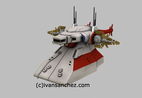 archangel gundam seed 3d test color lightwave