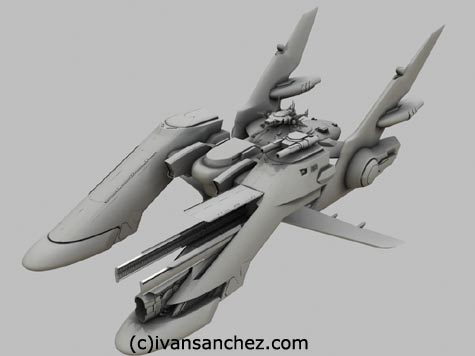 archangel wing gundam seed 3d lightwave sandrum