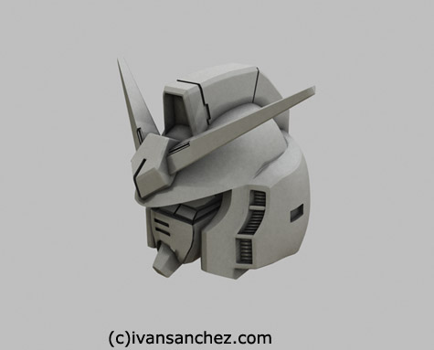 mobile suit zeta gundam MKII mark 2 3d mesh cg sandrum