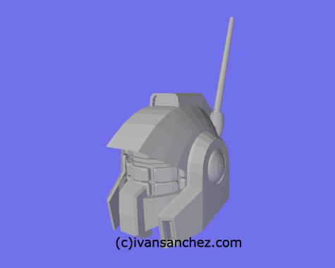 nemo zeta gundam 3d mesh cg sandrum