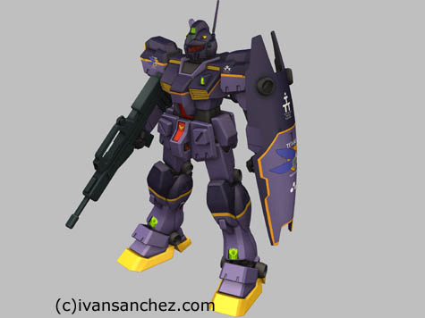 gm quell ttt titans test team 3d mesh