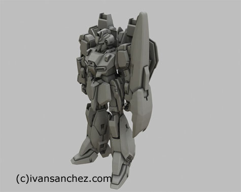 zeta gundam 3d mesh sandrum shield