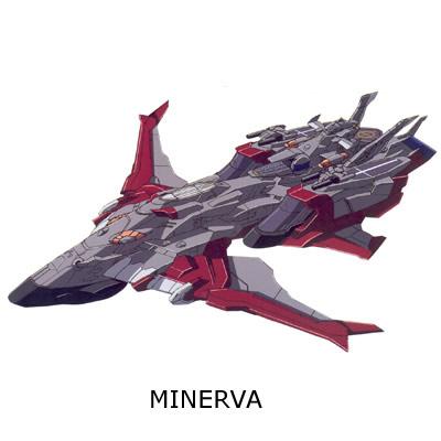 minerva sandrum gundam 3d mesh CG