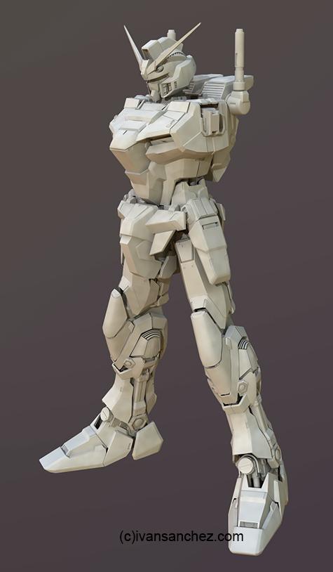 mobile suit gundam seed destiny stargazer 3d mesh cg sandrum duel assault shroud