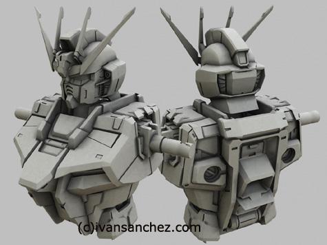 mobile suit gundam seed destiny infinite justice strike EVOLVE Perfect Grade freedom MG 3d mesh cg sandrum