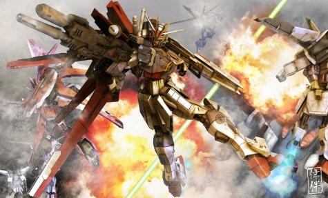 oowashi akatsuki gundam force impulse 3d gundam mesh cg sandrum