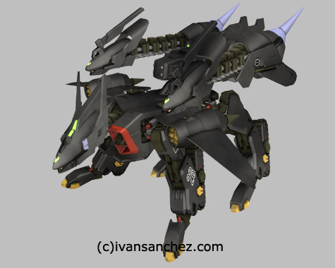 mobile suit gundam seed stargazer destiny  3d mesh cg sandrum
