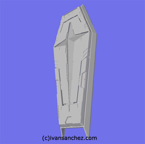 mobile suit gundam seed destiny impulse gundam force sword blast 3d mesh cg sandrum