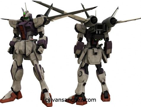 mobile suit gundam seed destiny PG evolve strike freedom MG 3d mesh cg sandrum