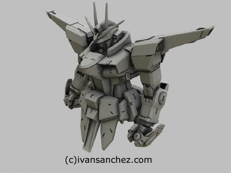 mobile suit legend gundam seed destiny 3d mesh cg sandrum