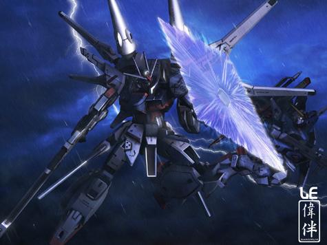 Legend Destiny Gundam 3d gundam mesh cg sandrum