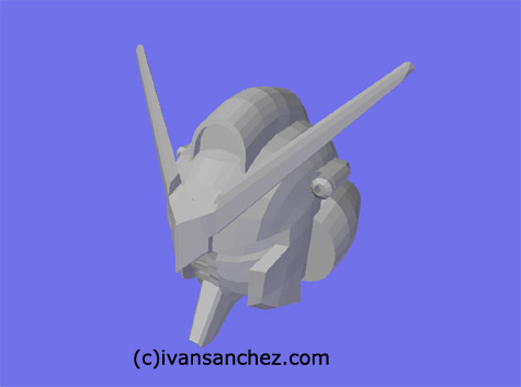 mobile suit gundam seed destiny murasame mobile suit 3d mesh cg sandrum