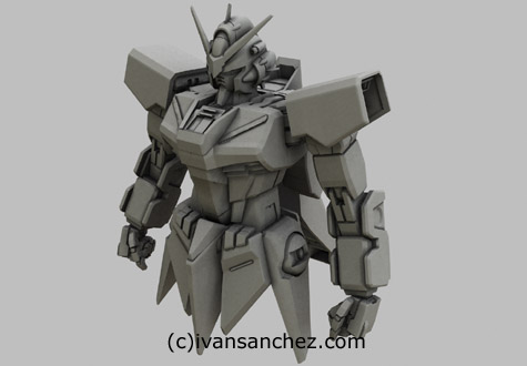 mobile suit gundam seed destiny takemikazuchi 3d mesh cg sandrum