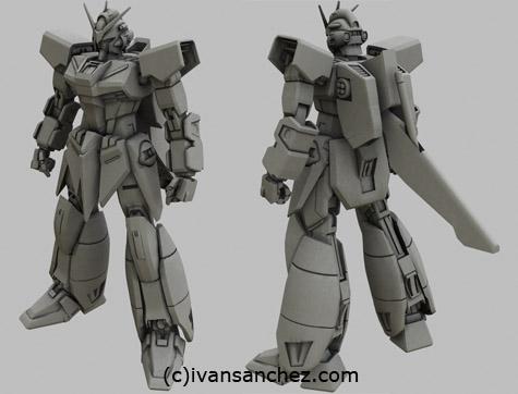 mobile suit gundam seed destiny takemikazuchi murasame 3d mesh cg sandrum