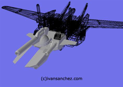 Sky Grasper gundam seed 3d mesh cg sandrum