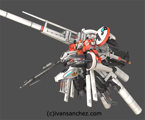 Deep Striker plan303e Ex-S Gundam S-Gundam gundam sentinel 3d mesh cg sandrum