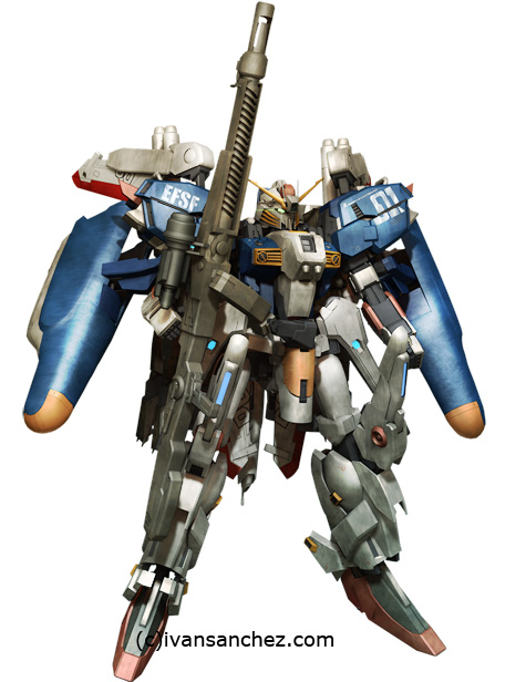 mobile suit  Sentinel Master Grade Ex-S Sentinel gundam seed strike evolve gundam launcher destiny 3d mesh cg sandrum