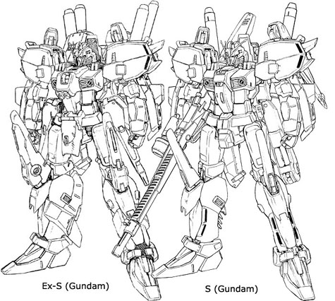 sentinel Ex-S S Superior Extraordinary plan 303E Deep striker bst gundam 3d mesh cg sandrum