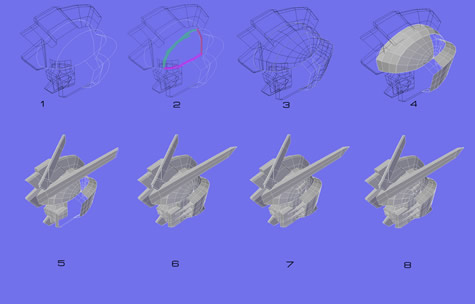 Gp01 Gp02 Gp01fb Gp03 Physalis Zephyranthes Stamen Orchis Dendrobium 3d gundam mesh cg sandrum freedom gundam walkthrough tips